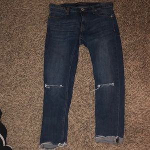 Express girlfriend jeans size 6 (worn once)